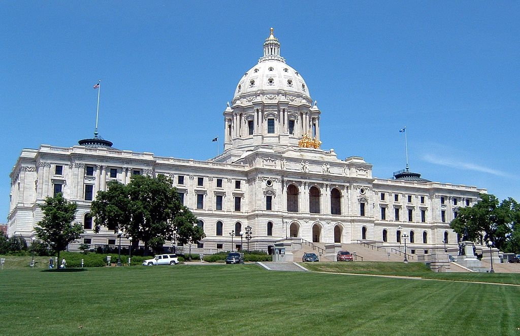 Saint Paul is the capital of the state of Minnesota. The city hosts the capitol building.